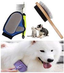Hondenborstels en kammen