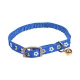 Kattenhalsband blauw