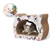 Designvorm Krabbord voor katten inclusief kattenkruid