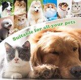 Badhanddoek met borstels voor honden en katten_