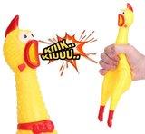 schreeuwende kip