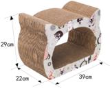 Krabmeubel karton katten