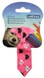 stropdas roze hond