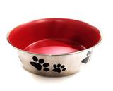 Voerbak RVS pootje voor honden en katten_