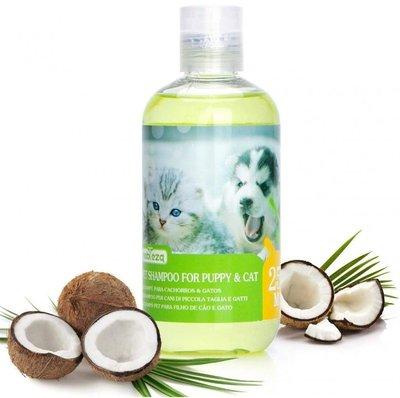 Milde shampoo voor puppy's en kittens