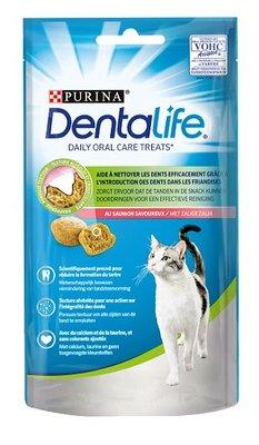 Dentalife snacks kat Zalm