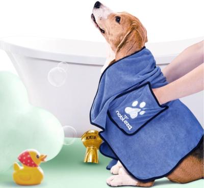 Microvezel handdoek voor honden en katten
