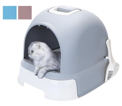 Gesloten kattenbak met Lade Hype