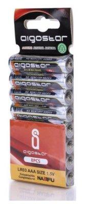 AAA Alkaline batterijen - LR03 - 1.5V - 8 stuks