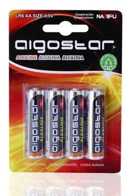 AA Alkaline batterijen - LR06 - 1.5V - 4 stuks