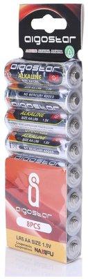 AA Alkaline batterijen - LR06 - 1.5V - 8 stuks