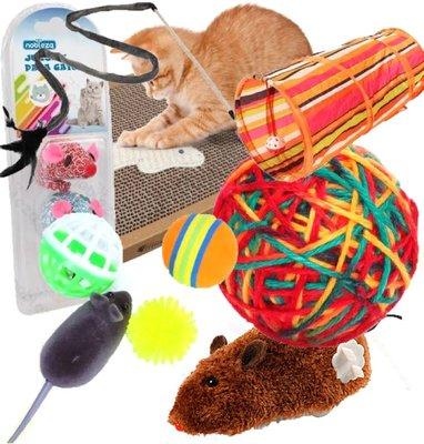 Katten speelgoedpakket