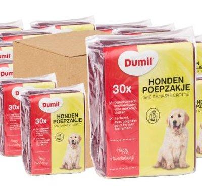 Dumil Hondenpoepzakjes geparfumeerd 720 stuks