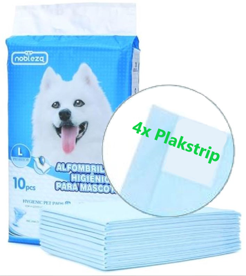 Puppy training pads met plakstrip