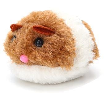 Kattenspeeltje bewegende pluche muis