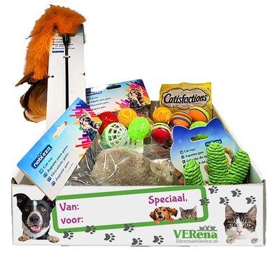 Cadeau box voor katten M