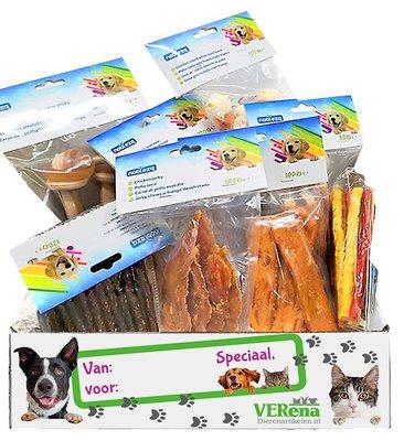 Honden cadeau Snackbox