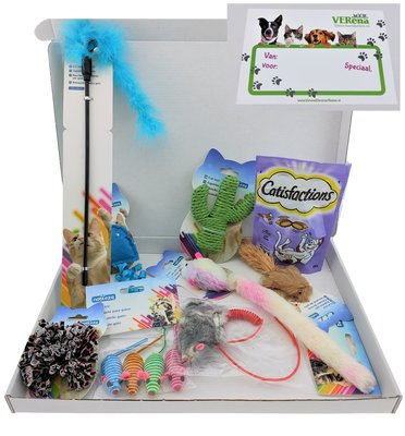 Katten cadeau box S