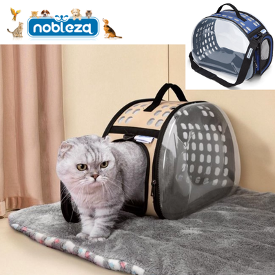 Transparante draagtas voor hondjes en katten