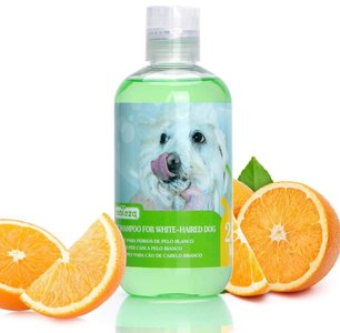 Honden shampoo wit vacht