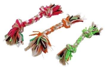 Hondenspeelgoed geknoopt touw