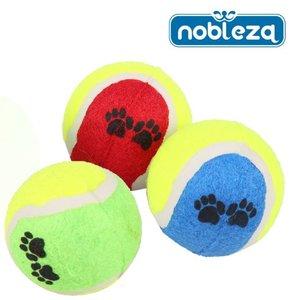 hond tennisballen